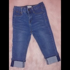 Girls 4t cropped Hudson jeans